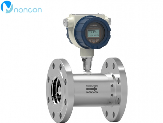 NONCON liquid turbine flow meter