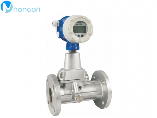precession vortex flow meter